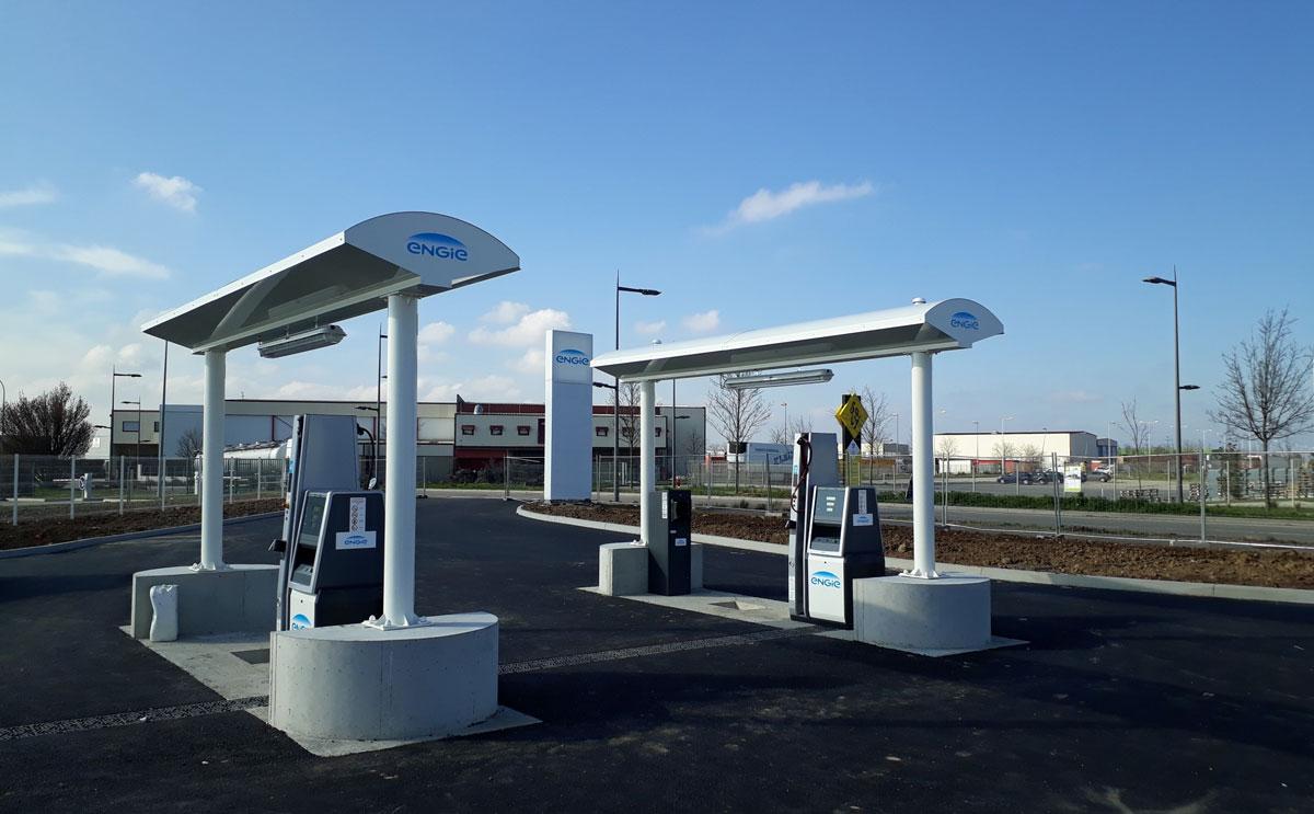 Lyon : GNVert inaugure la première station GNV ouverte aux poids-lourds