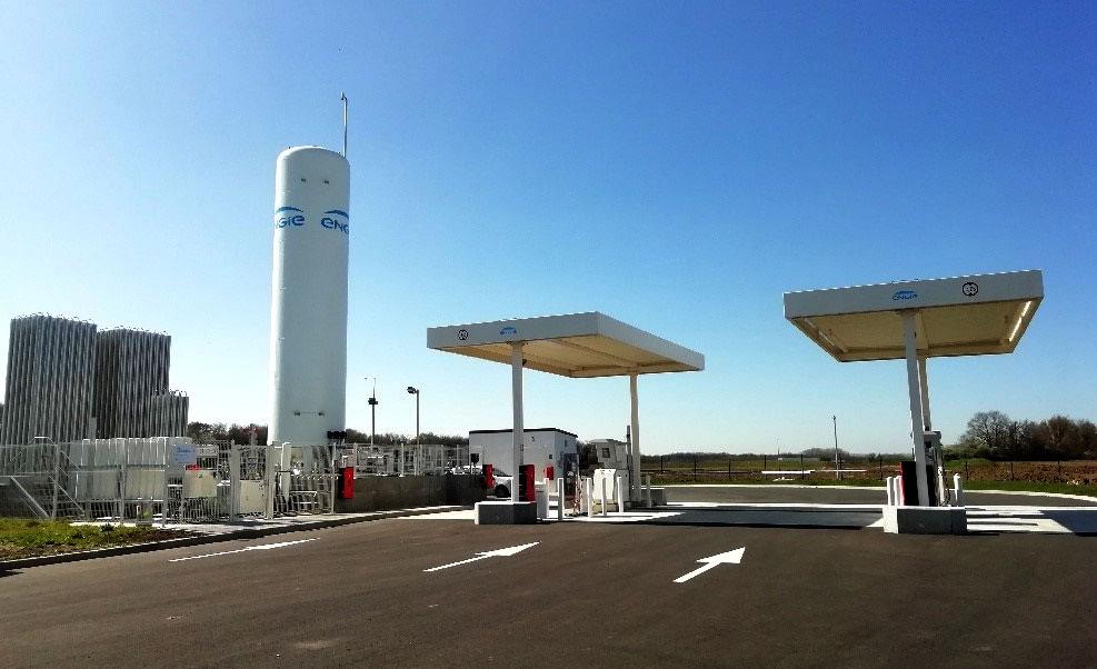 Indre-et-Loire : ENGIE Solutions ouvre une station GNLC à Sorigny