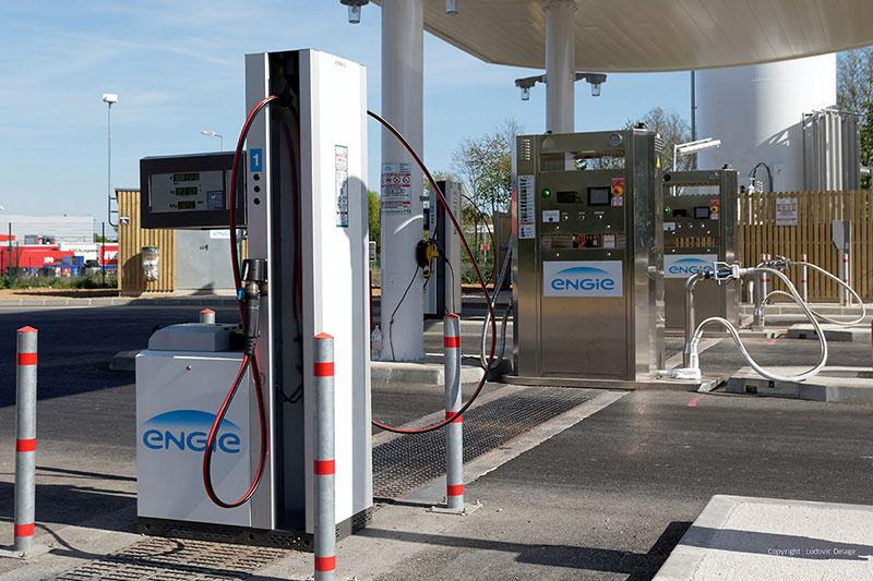GNVert inaugure une station GNLC à Bondoufle et s'associe avec XPO Logistics