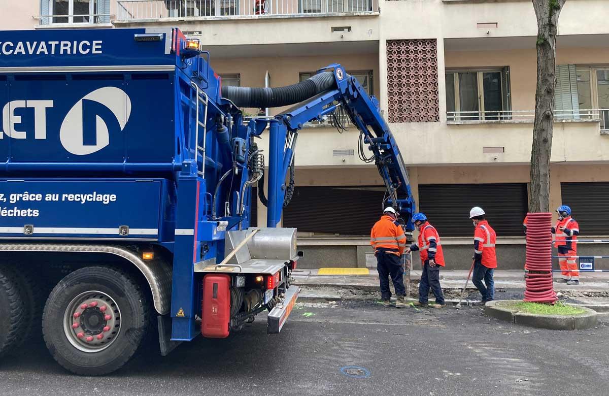 A Lyon, GRDF assure ses chantiers avec des véhicules au gaz naturel
