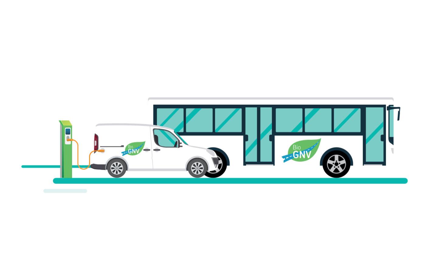 Relance économique : GRDF appelle à développer le biogaz et le GNV