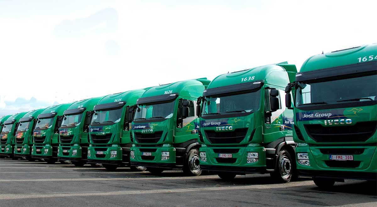 Transport routier : le groupe Jost va convertir 35 % de sa flotte au gaz naturel