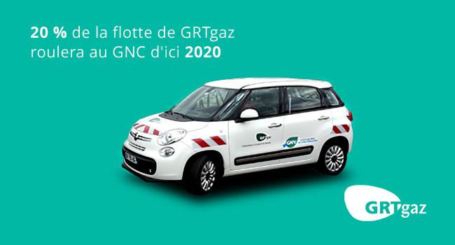 20 % de la flotte GRTgaz roulera au GNV d'ici 2020
