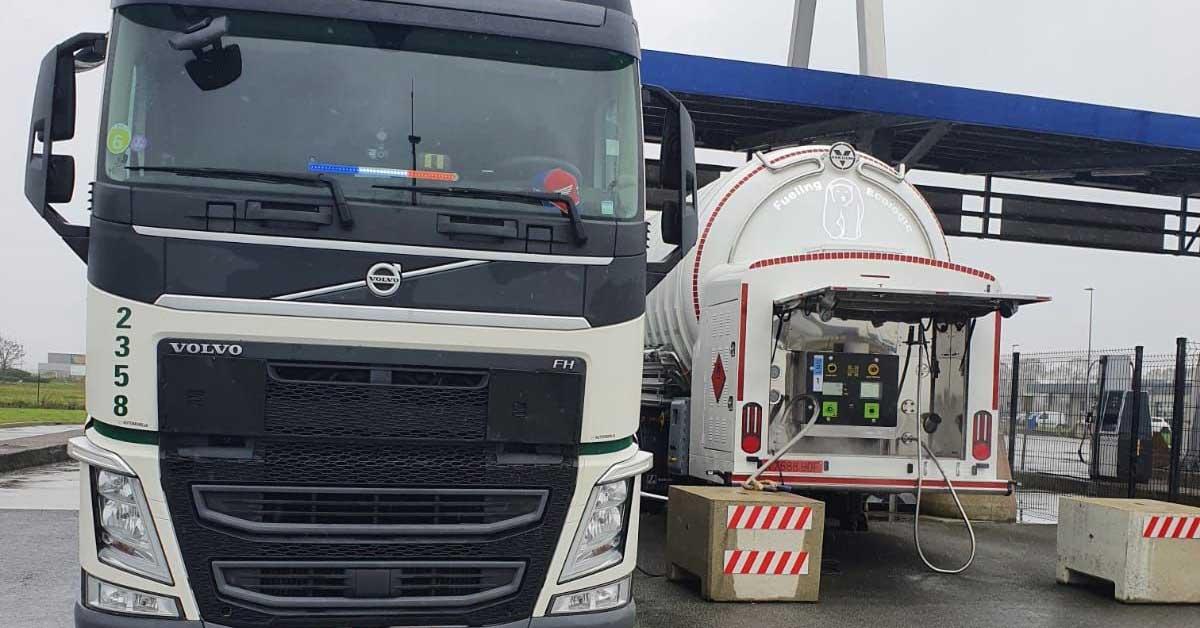 Une nouvelle station GNLC pour le port de Calais