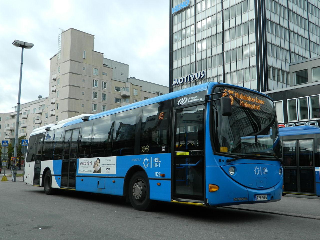 Finlande : les bus d'Helsinki passent au biogaz