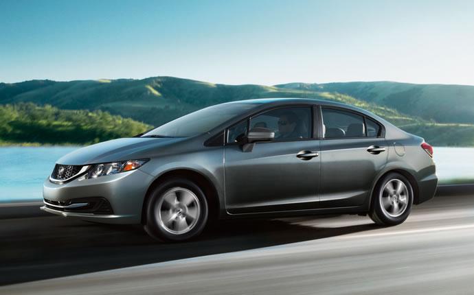 Honda s�appr�te � lancer la Civic gaz naturel aux Etats-Unis