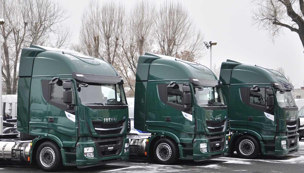 Hongrie : des camions GNL pour Duvenbeck Logisztikai