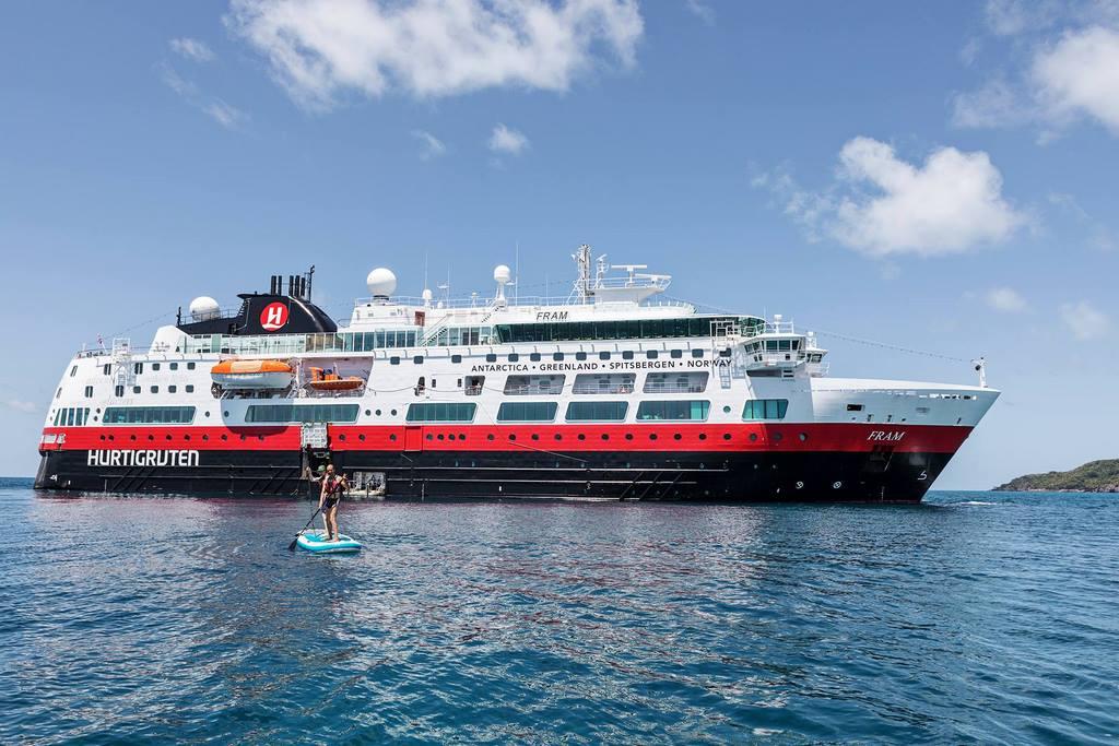 Hurtigruten choisit Rolls-Royce pour convertir ses navires au GNL