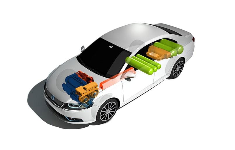 IAV Metamax : une voiture hybride GNV à grande autonomie