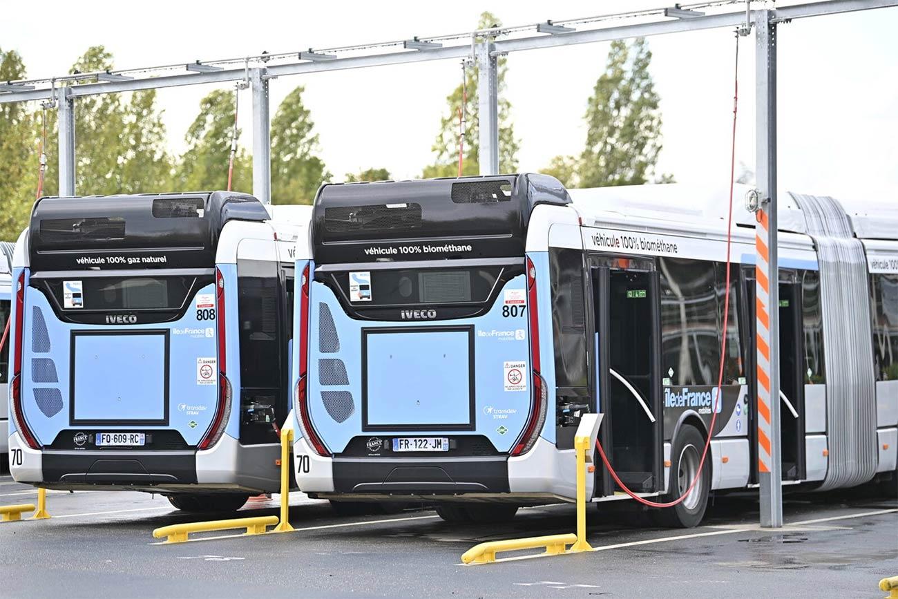 Ile-de-France : le centre bus de Pantin bientôt converti au bioGNV