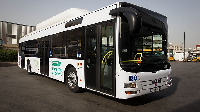 Le gouvernement israélien va financer 100 bus au gaz naturel