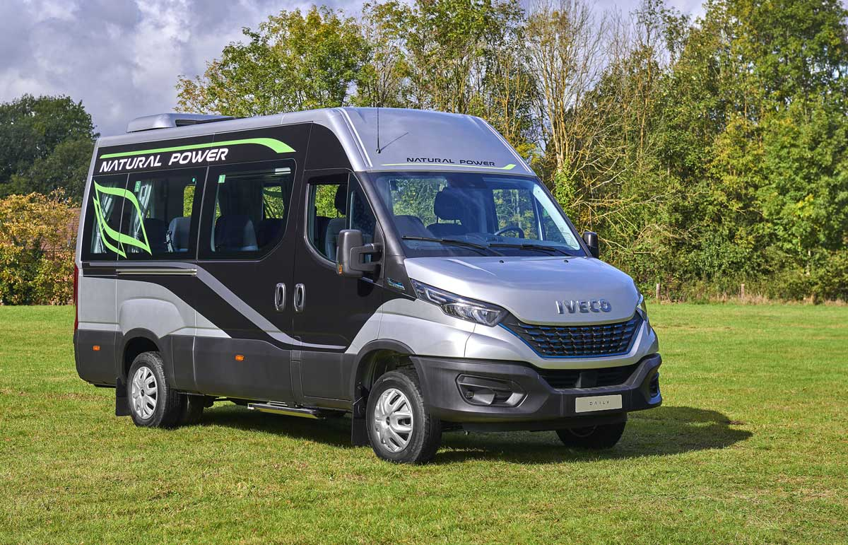 Iveco Daily Start Natural Power : le minibus GNV présenté à BusWorld