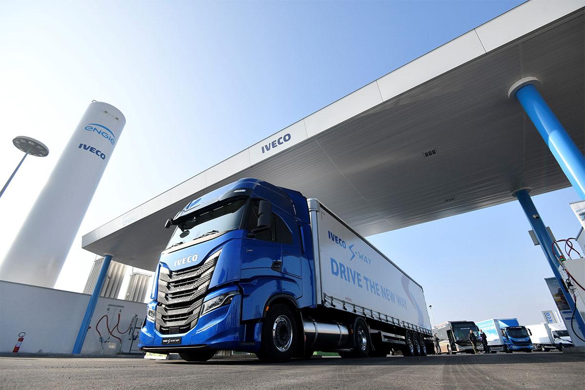 Italie : Engie et Iveco ouvrent une station GNV pour poids-lourds à Turin