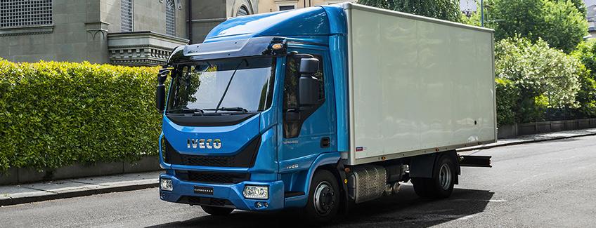 Nouvel Iveco Eurocargo GNV � Le gaz naturel � la conqu�te des villes