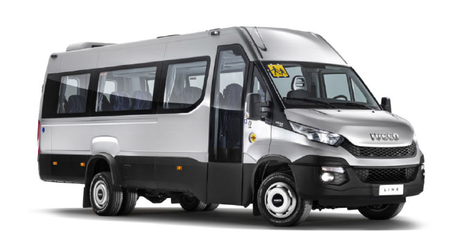 Iveco Daily Line Natural Power : le minibus GNV arrive en France