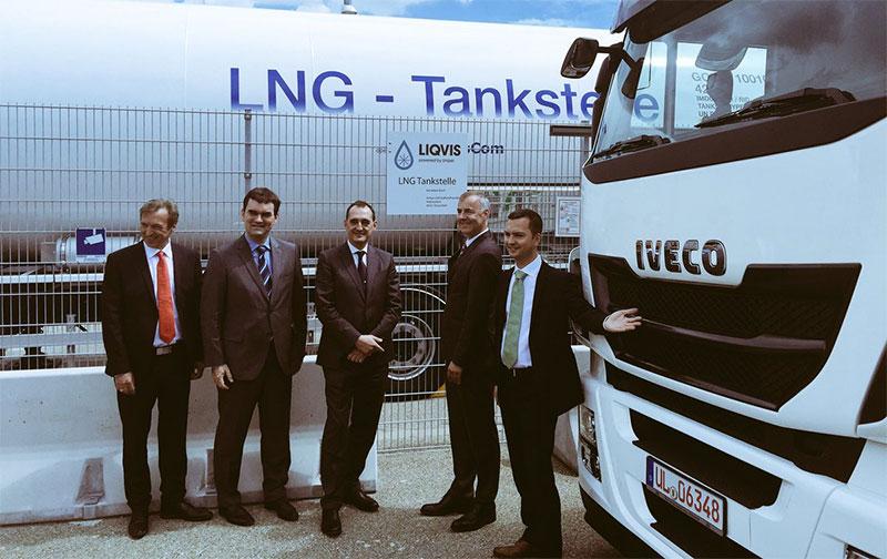 Iveco et Uniper ouvrent une première station GNL en Allemagne