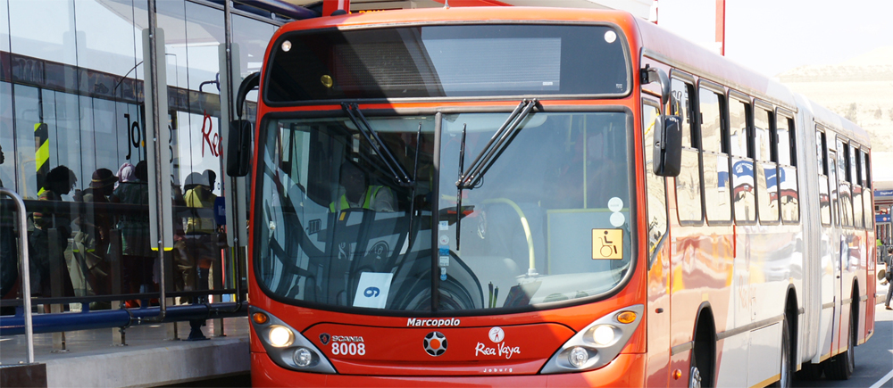 Afrique du Sud � Les bus de Johannesburg vont passer au gaz naturel