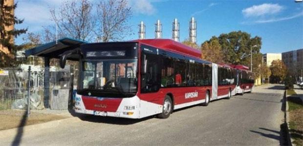 Hongrie : 40 bus GNV pour la ville de Kaposv�r