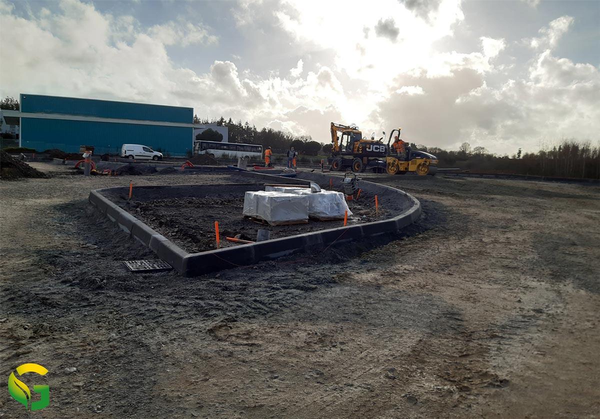 Morbihan : début des travaux pour la station GNV KarrGreen de Ploermel