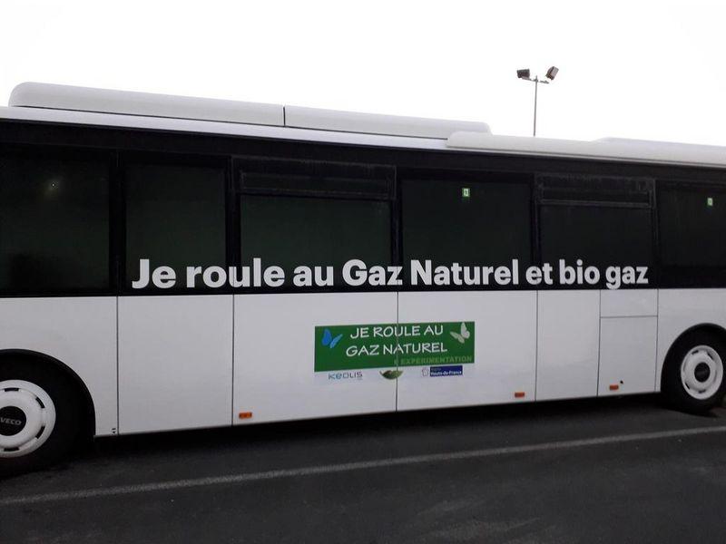 Dans l'Oise, Keolis teste un premier autocar au gaz naturel