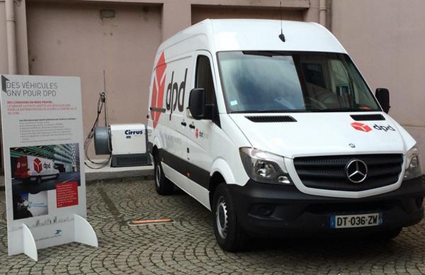 Lyon : La Poste mise sur le gaz naturel pour ses livraisons