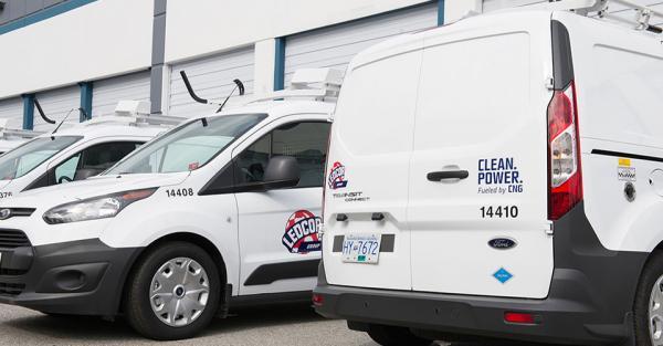 Canada - Ledcor va acqu�rir plus de 200 v�hicules utilitaires l�gers au gaz naturel