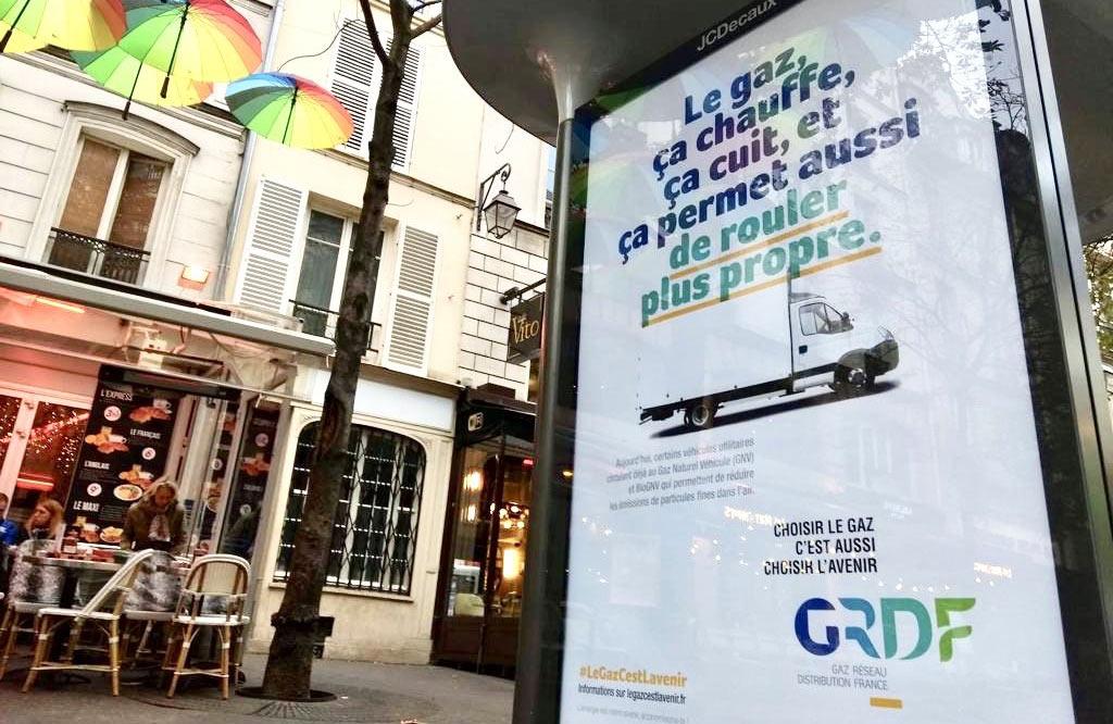 GRDF en campagne pour promouvoir le gaz naturel pour la mobilité