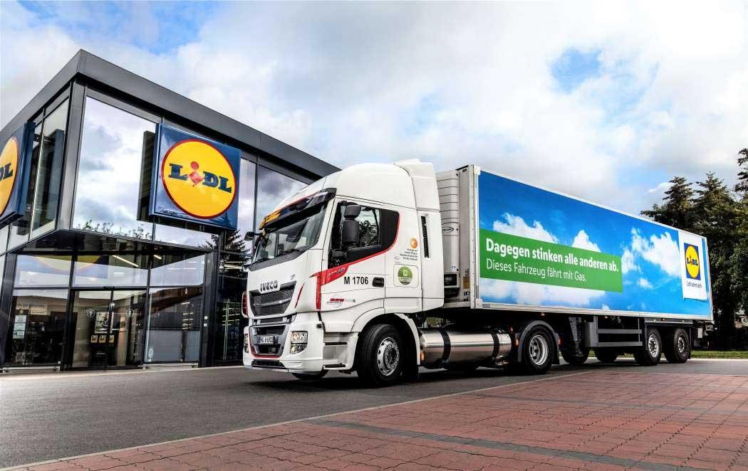 En Allemagne, Lidl va étendre sa flotte de camions GNL