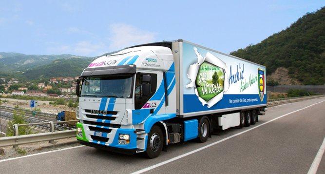 Italie – Les magasins Lidl bient�t approvisionn�s par des camions GNL