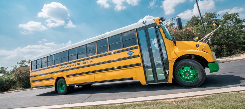 Lion Bus et NGV Motori s�associent pour d�velopper des bus scolaires au GNV