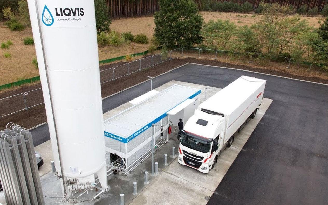 Les stations GNL Liqvis accessibles avec la carte Romac Fuels