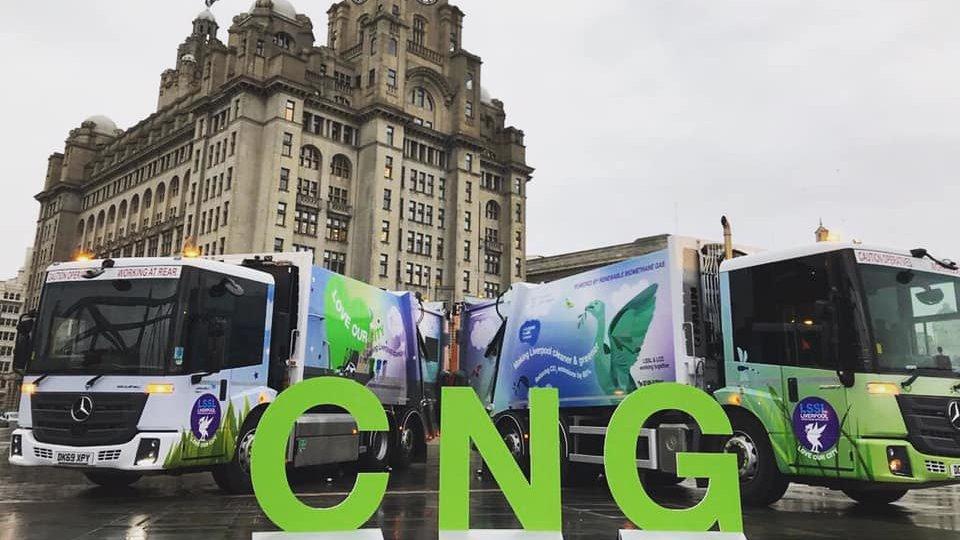 Liverpool mise sur le bioGNV pour ses véhicules de voirie