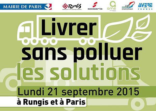 Livrer sans polluer � Paris � Le GNV � l�honneur le 21 septembre prochain