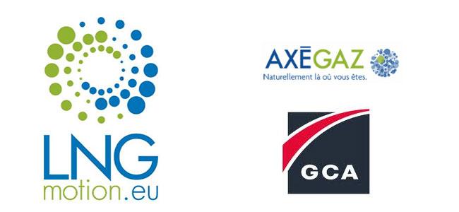 LNG Motion : Axegaz et GCA lancent un projet europ�en de d�ploiement de stations et camions GNL