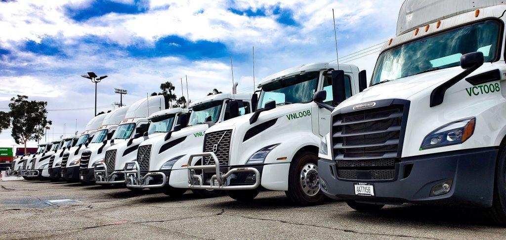 Au port de Los Angeles, les camions passent au gaz naturel