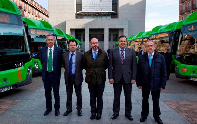 15 nouveaux bus GNV Scania pour l�agglom�ration de Madrid