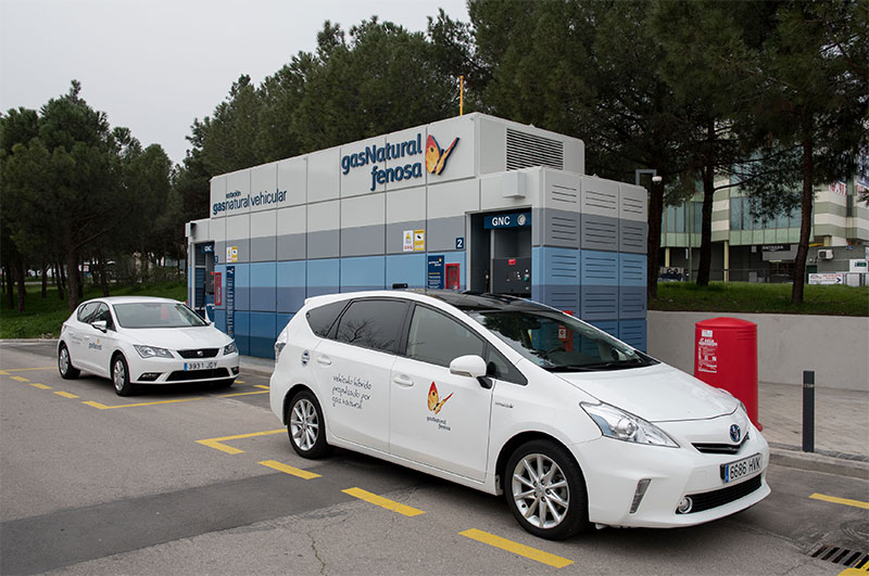Gas natural fenosa ouvre une 7 me station gnv madrid for Oficinas gas natural fenosa madrid