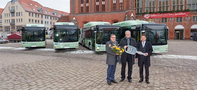 De nouveaux bus au gaz naturel pour la ville de Francfort