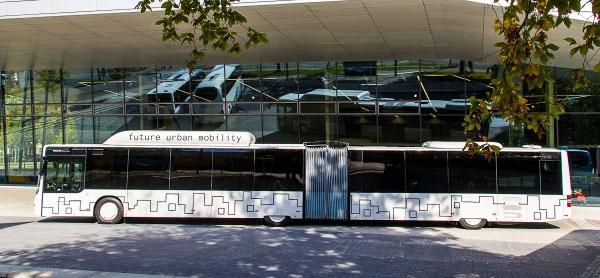 Bordeaux commande 25 bus articul�s au GNV/Biogaz � MAN