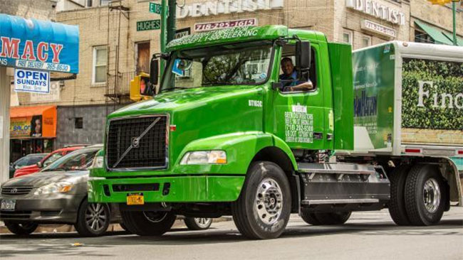 New-York : Manhattan Beer commande 35 camions GNV à Volvo Trucks