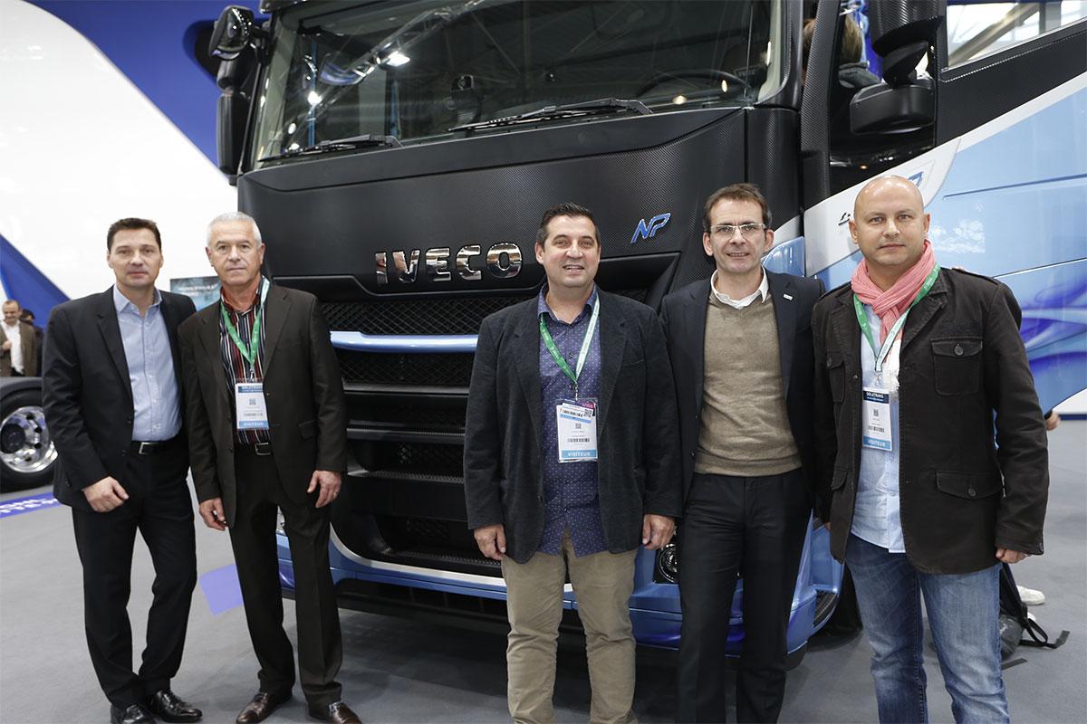 Le Groupe Mendy commande 10 nouveaux camions GNL