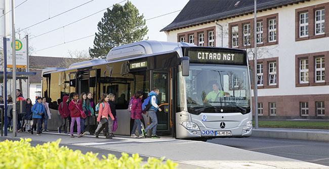 Bus GNV : Madrid commande 82 Mercedes Citaro NGT