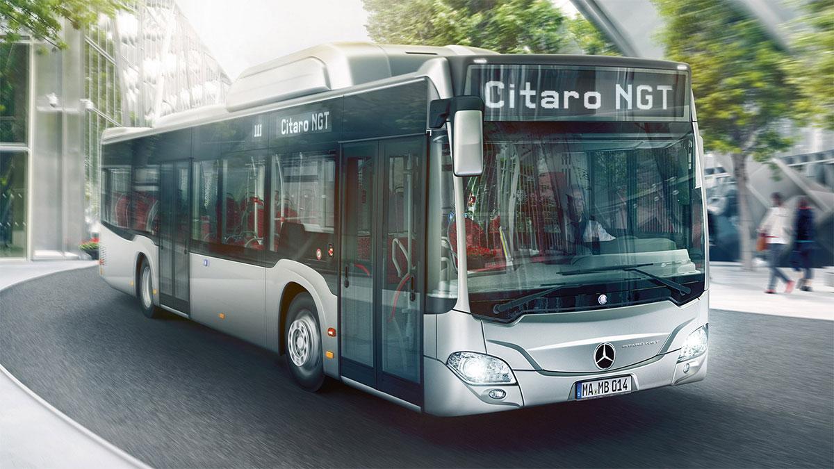Bus GNV : Plus de 1.000 Mercedes Citaro NGT déjà livrés dans le monde