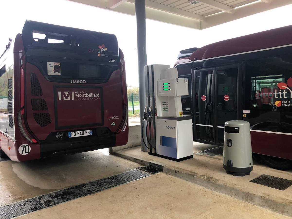 MPH Energie bien positionné sur les stations GNV pour flottes de bus