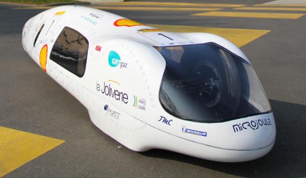 Le Microjoule vise un record de distance GNV au Shell Eco-Marathon 2015