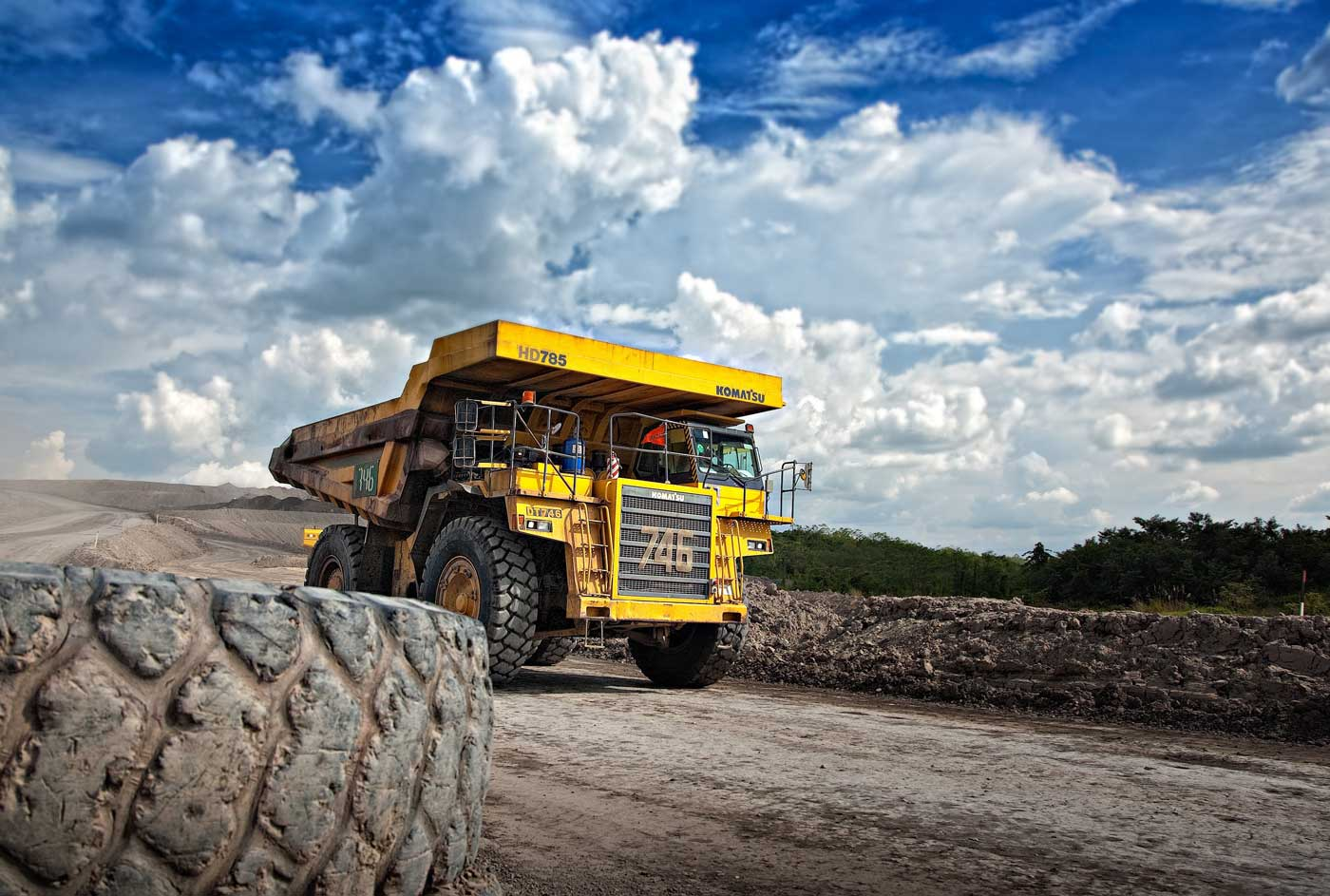 La plus grande entreprise d'extraction de diamants au monde passe au GNC pour sa flotte de véhicules