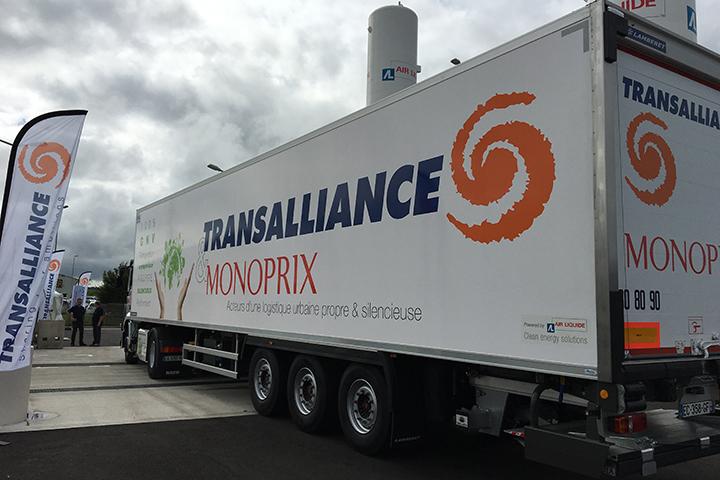 100 camions GNV pour Monoprix d'ici fin 2017