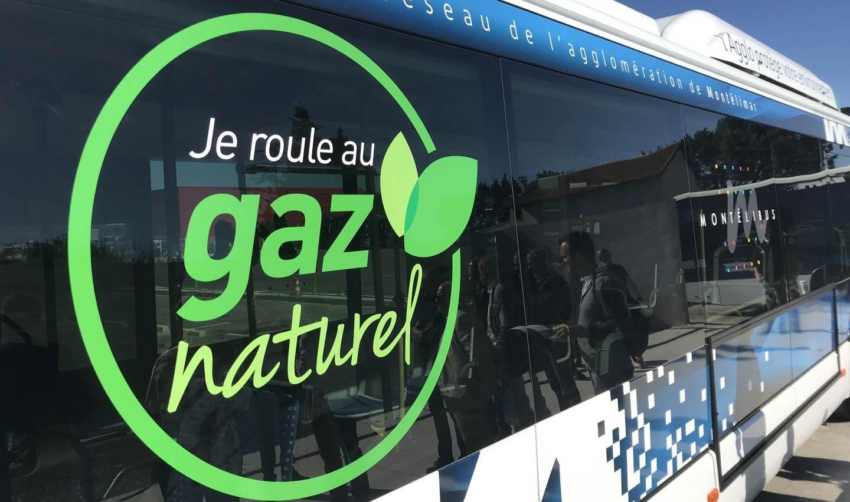 Montélimar : des bus au gaz pour remplacer le diesel