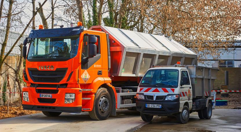 Moulinot Compost & Biogaz r�alise ses tourn�es au GNV avec Iveco