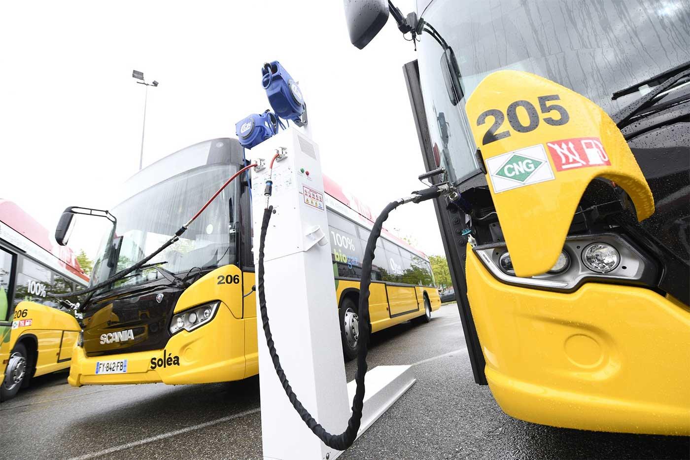 Mulhouse reçoit ses premiers bus au biogaz